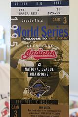 1995 World Series ticket