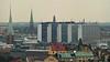 Church towers and Hötorgshusen (skumroffe) Tags: roof building church skyline view sweden stockholm södermalm churchtower utsikt tak kyrka hötorgsskraporna södersjukhuset byggnad kyrktorn hötorgshusen