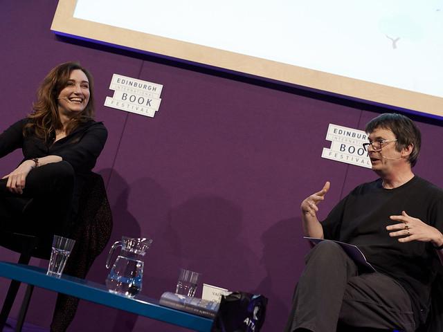 Viv Albertine with Chair Ian Rankin