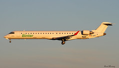 Binter Canarias CRJ-900 EC-MFC (birrlad) Tags: sunset sunlight airplane islands evening airport aircraft aviation ace airplanes jet lanzarote canarias landing finals airline canary arrival airways approach airlines runway regional airliner canadair arrecife arriving binter crj900 ecmfc