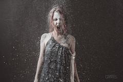 v018 (PetterZenrod) Tags: red art beauty dramatic redhead bella dust flour pelirroja 30mm surrealista dramático harina