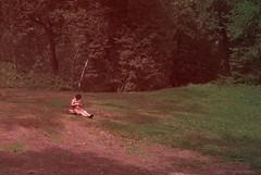 Life... (sofiferrer) Tags: park red woman newyork green nature centralpark newyorkcit