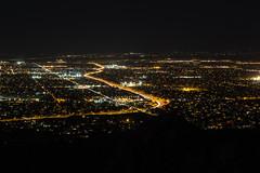 North Phoenix from Piestewa Peak (raptoralex) Tags: longexposure arizona mountain phoenix night squawpeak piestewapeak valleyofthesun