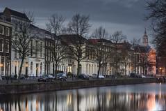 Schiedam, Lange Haven (Jan Sluijter) Tags: holland canals gracht schiedam zuidholland marjolijn havenkerk visitholland langehaven