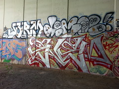 Enem Jerm Demoe (colored_boogers) Tags: philadelphia graffiti philly tku kts wab flyid