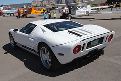 Ford GT (twm1340) Tags: white ford airport day sedona az sez gt fordgt 2015