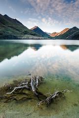 Moke Lake Mirror (grantg59@xtra.co.nz) Tags: morning lake frosty calm queenstown moke