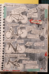 bicycle zine (distelfliege) Tags: bycicle zinemaking bikezine cyclezine