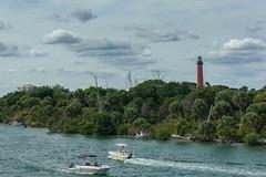 Jupiter Lighthouse (Krugler) Tags: lighthouse boats day florida inlet jupiter