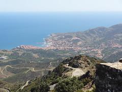 TOUR MADELOC 5 * (ERIC STANISLAS 54) Tags: landscape flickr 66 catalunya collioure languedocroussillon alberes catalogne cotlliure pyreneesorientales madeloc cotevermeille