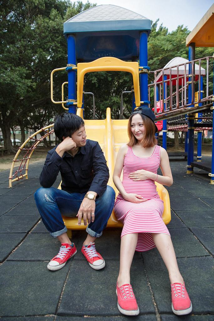 孕婦寫真,孕婦攝影,公園孕婦,稻田孕婦,海邊孕婦,時尚孕婦,Lion&Lys03