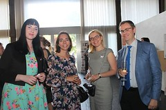 EUNIC London, Dpaal, YDL Summer Drinks at the Slovak Embassy