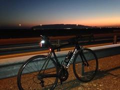 Jebel Hafeet at sunset (Patrissimo2017) Tags: jebelhafeet roadbike sunset cycling