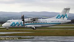 XA-UYK  ATR42-600 Glasgow Dec 2016 (pmccann54) Tags: xauyk atr42600 aeromarcommx