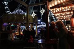 Ghent in Christmas mood (2) (jackfre 2) Tags: belgium ghent gand gent eastflanders christmas lights lighting leie leieriver river sintmichielskerk sintmichielsbrug bridge