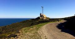Walking to the Naval Station at Cape Bear. Cote Vermeille. Sud de France (JRJ.) Tags: frankrike france coast sea mediterranian sun