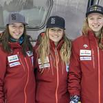 Women's BC Ski Team athletes