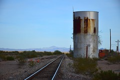 Vidal, California (Santa Fe now Arizona & California) (redfusee) Tags: atsf arzc