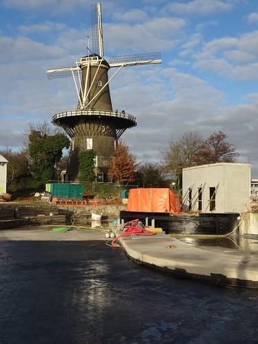 Leiden: Molen De Valk
