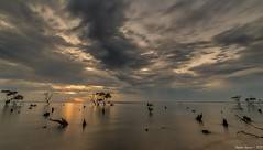 Second image of Sunrise at Beachmere. (Stephen Spence 1965) Tags: beachtete brisbane queensland landscape sea wideangle sonya7mark2 sunrise