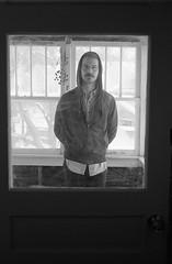 (Alex Bolen) Tags: canon ae 1 a 35mm 35 ilford hp5 fp4 black white portrait human lovely man cute boy natural light