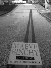 Tar(a) Road, by Maeve Binchy (Lenaprof) Tags: 7daysofshooting week27 abooktitle blackandwhitewednesday