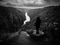Stream (Vitor Pina) Tags: blackandwhite fotografia photography vitorpina landscape light pretoebranco people pessoas contrast candid river rocks monochrome