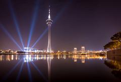Macau Tower (Billy Photography +) Tags: macautower macau tower night light explore sony rx100