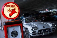 Vintage Fire-Chief Gasoline (sniggie) Tags: gaspump museum bowlinggreen vintagecorvette gasoline pump petroleum texaco nationalcorvettemuseum corvette corvettemuseum artsautomart us31 us68 usroute31