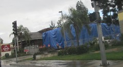 Arby's Under Wraps (TedParsnips) Tags: deltaco losangelesavenue simivalley southerncalifornia california arbys construction comingsoon fastfood restaurant chain