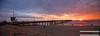 Venice Beach (Sébastien Pignol Photographie) Tags: venice beach sunset losangeles la usa california californie us canon 6d pignol sebastien trip travel holiday voyage sun cloud sea pacific ocean pier