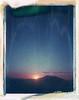 Humphreys Peak, AZ (moominsean) Tags: polaroid 190 instant iduv expired042004 arizona flagstaff humphriespeak southwest sunset dusk desert mountain volcano