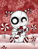 SweetTooth_Peppermint (BitStrange) Tags: unluckables unluckable unlucky luckycharm monster creature voodoodoll voodoo creepycute creepycuteart lowbrow lowbrowart bigeyes bigeyedart bigeyeart skulls sweettooth peppermint peppermintcandy candy candycane