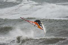 Bigbury on Sea windsurfers - 2 (Matchman Devon) Tags: bigbury sea south hams windsurfers wind waves surf windsurfer