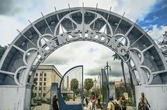 Armstrong Park (r_hauenstein) Tags: nola armstrong gate park clouds architecture nikond7000 nikon louisiana