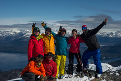 Celebrating Ski Camp Southamerica/ all photos Chris Rubens copyright