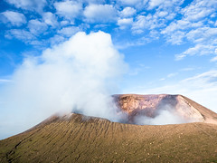 Volcan Telica (Voyages Lambert) Tags: leonnicaragua ecotourism latinamerica travel tourism adventure traveldestinations vacations nicaragua centralamerica volcaniccrater volcano mountain landscape smokephysicalstructure 2014 volcaniccone