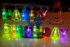 Happy Birthday für Frank und alle Geburtstagskinder (Sockenhummel) Tags: fuji x30 fujifilm finepix fujix30 geburtstag birthday 60 sechzig happybirthday herzlicheglückwünsche mitternacht gratulation glückwünsche dekoration