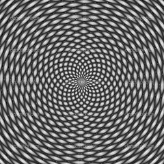 Optical illusion, black and white (АлександрБайков) Tags: abstract art backgrounds bizarre black cocktail color confusion contemplation curve decoration design digitally eyesight generated hypnotist illusion illustration image item nobody novelty object painting pattern pop psychedelic puzzling rectangle single spinning spiral square twilight vector white zenlike zombie zombify zone
