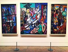 Max Beckmann - Metropolitan Museum Of Art (Christian Montone) Tags: newyork nyc newyorkcity manhattan metropolitanmuseumofart metmuseum art oilpainting maxbeckmann