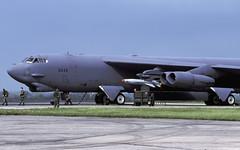 B-52H 60-0049 LA AGM142 EGVA 060599 CLOFTING P (Chris Lofting) Tags: boeing b52 b52h agm142 usaf egva fairford la