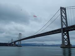 Air banner (Rubén HPF) Tags: bay bridge oakland san francisco yerba buena tunnel