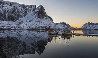 Reine Harbour at Lofoten Islands