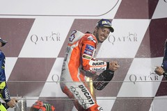 Andrea Dovizioso held the lead for much of the race but finished second (jacobjones73) Tags: andreadovizioso grandprixofqatar motogp motogp2017