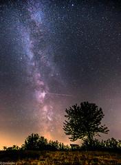 MilkyWay Night mit Sternschnuppen (ZerroN) Tags: night stars lights licht natur nights milkyway perseiden sternschnuppen milchstrase