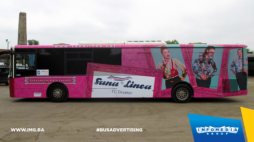 Info Media Group - Sana Linea, BUS Outdoor Advertising, Banja Luka 08-2015 (1)
