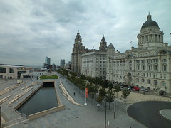 Pier Head, Liverpool (John of Witney) Tags: liverpool pierhead liverbirds liverbuilding 3graces museumofliverpool