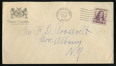 Hotel Lembke, Letter to Governor Franklin Delano Roosevelt from Valparaiso, Indiana, 1932 - Postal Cover (Shook Photos) Tags: newyork valparaiso indiana stamp governor cover envelope albany postagestamp albanynewyork franklindroosevelt williampenn postalhistory franklindelanoroosevelt postalcover portercounty valparaisoindiana