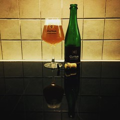 Curtius (Bim Bom) Tags: beer square squareformat blonde lark belgianbeer liège wallonie bièrebelge iphoneography instagramapp uploaded:by=instagram