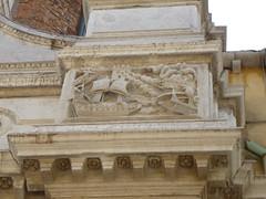 Venedig war früher ein Seemacht ! (Süßwassermatrose) Tags: italien venice italy art alley italia outdoor relief architektur vicolo venezia venedig gebäude italie gasse 2015 steinmetzarbeit rilievo venetien wandrelief steinrelief metropolitanstadt